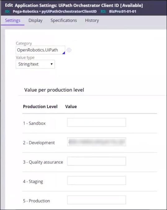 Client ID configuration in Pega Platform