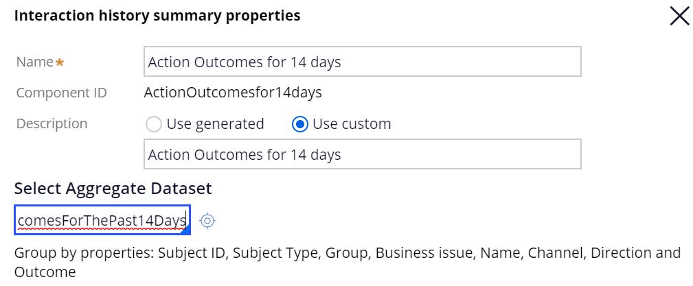 Sample IH Summary properties