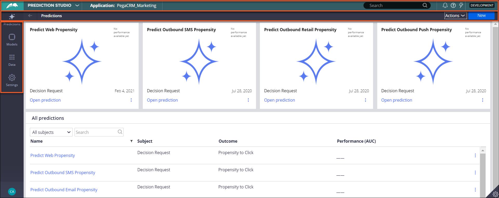 dsm-prediction-studio-overview icon