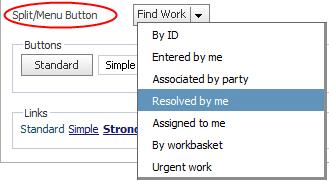 Skin form - Styles tab - Components - Split/Menu Button
