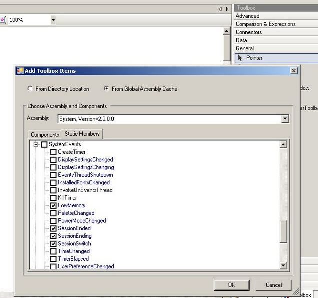 How do I use Windows system events in an automation? | Pega