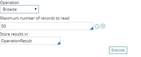 DatasetExecute method