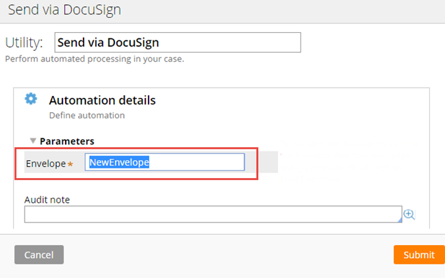 Configuring a DocuSign smart shape
