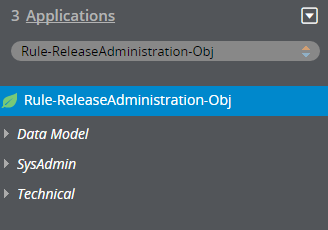 Custom class in the Application Explorer