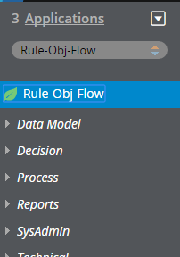 Flow instance list in the top-level Rule-Obj-Flow class