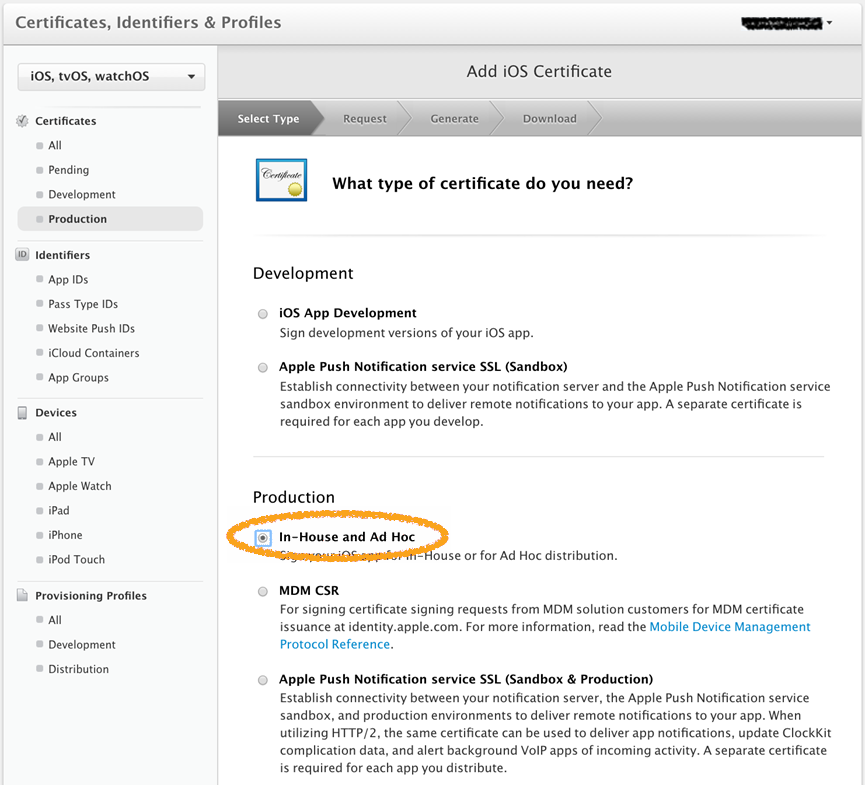 Creating A Distribution Certificate For Signing Ios Apps Pega