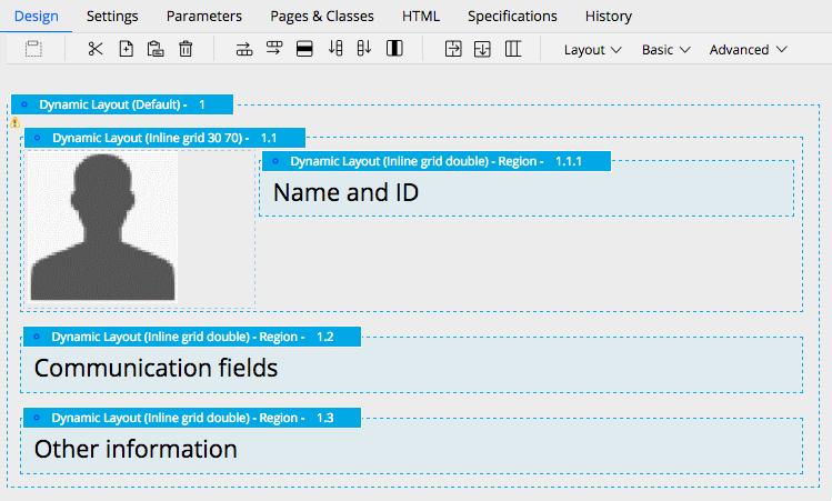 Sample design template
