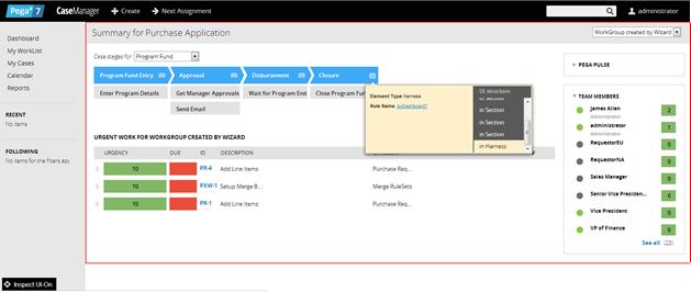 How to use the UI Inspector tool | Pega