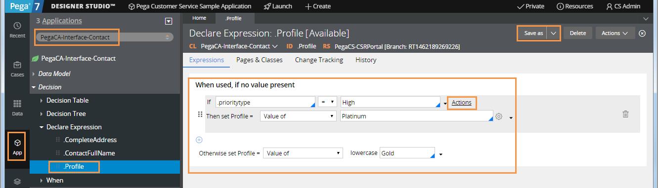 Configuring an SLA profile