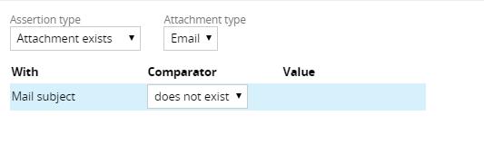 Attachment exists assertion