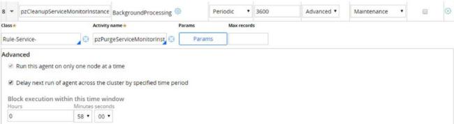 Settings for pzCleanupServiceMonitorInstances