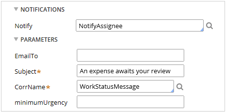 Notify current assignee