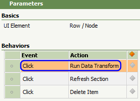 Run Data Transform