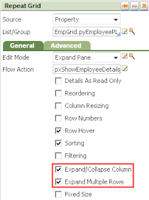 Select Expand/Collapse Column and Expand Multiple Rows