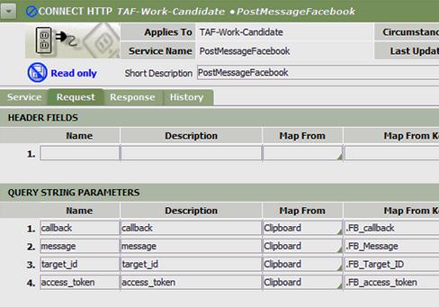 request tab