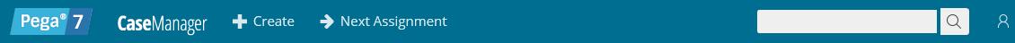 A plain blue background