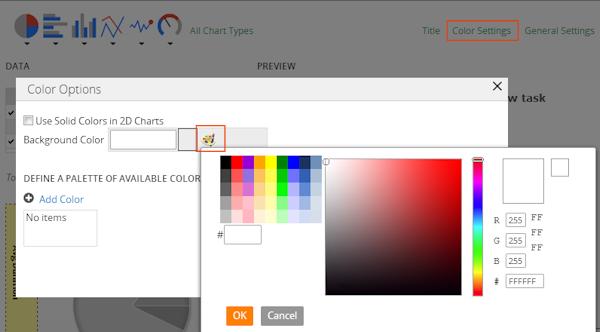 color options form