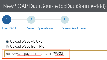 Load WSDL for new SOAP integration