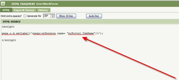 user workform setLabel Clipboard property
