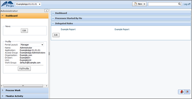 Manager Portal Delegated Rules Duplicate Names