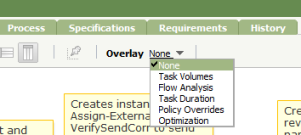 Flow overlay reports