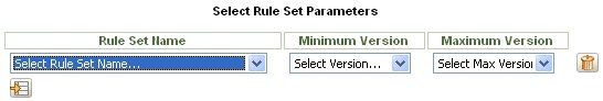 Select RuleSets to compare