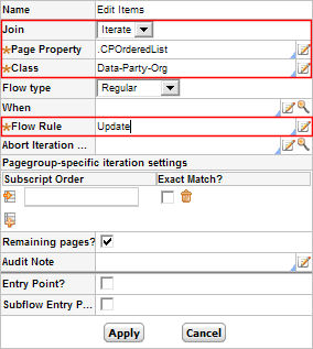 How to Process Select Elements from a Page Group in a