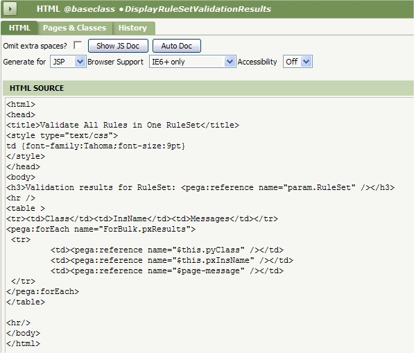 HTML rule 1