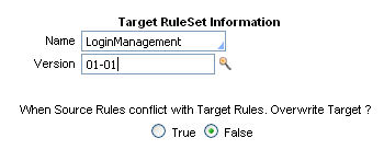 target for merge