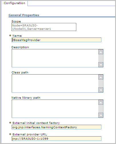 How to configure a Messaging Bridge between WebSphere and a