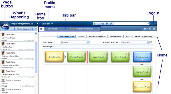 Business Analyst portal window