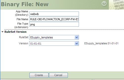 New Binary File rule