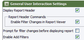 controls for filtering
