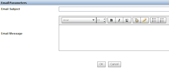 configure notification email