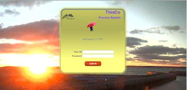 customized login screen