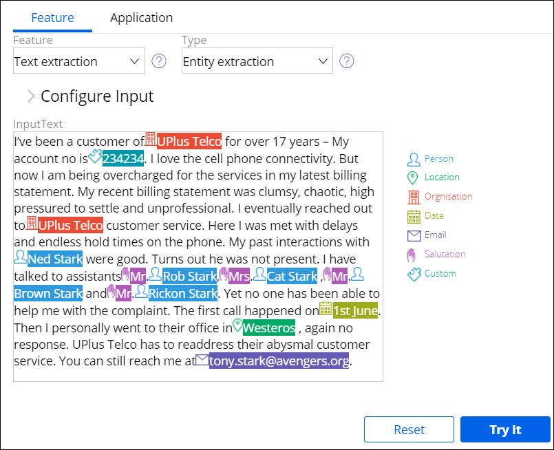 Analyzing natural language with text analytics | Pega