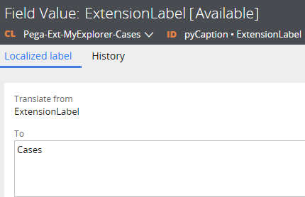 Extension name