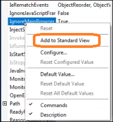"""Add to Standard View"""