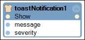 """toastNotification component options"""