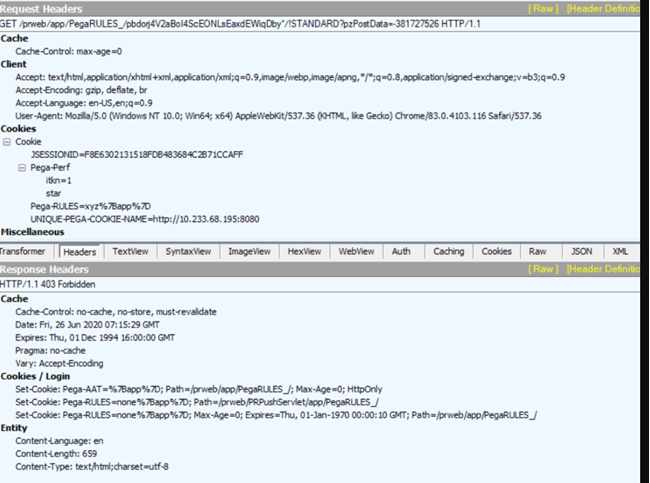 """HTTP Status 403 Forbidden occurs when cookie decryption fails during upgrade."""