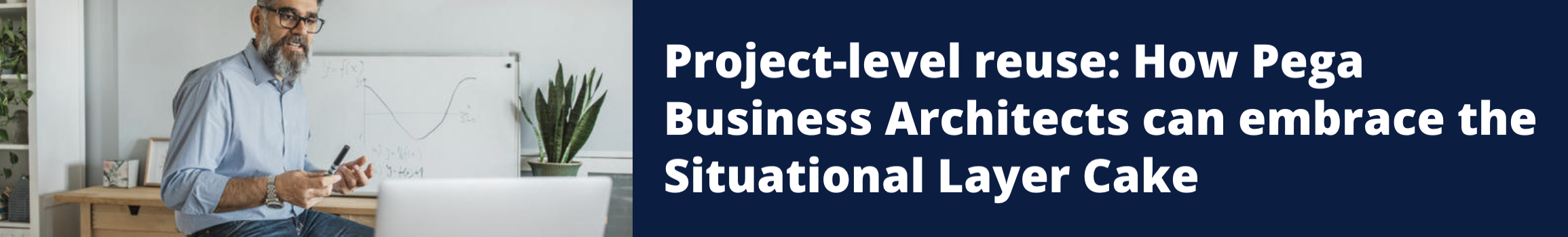 Project-level reuse: How Pega Business Architects can embrace the Situational Layer Cake to become faster and lighter
