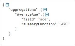 Sample aggregations element