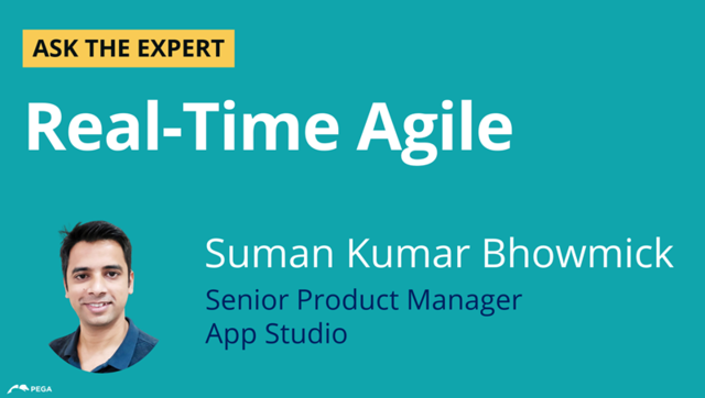 Ask the Expert: Real-Time Agile with Suman Kumar Bhowmick